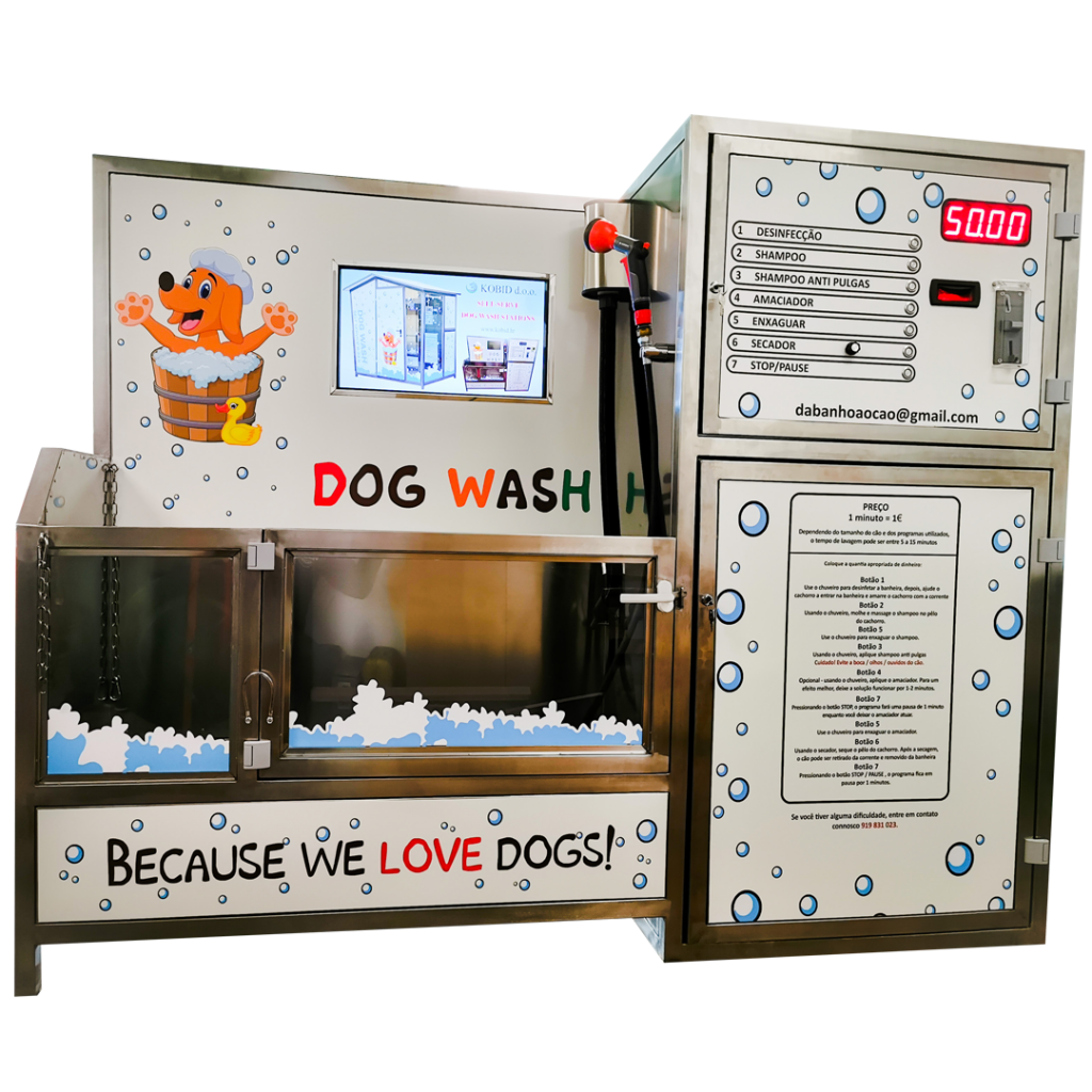 Indoor dog wash station Kobid